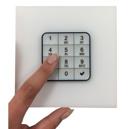 PACK ABIOLOCK CLAVIER BLANC CONSIGNE