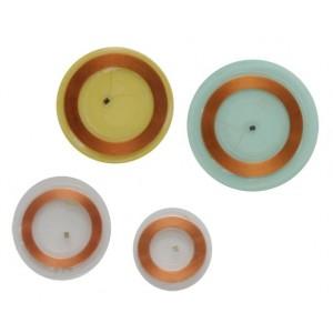 Disc tags adhésif souple et transparent