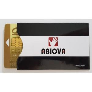 Porte carte bancaire ou de badge de contrôle d'accès