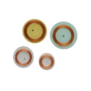 Disc tags adhésif souple et transparent RFID 125 Khz programmable