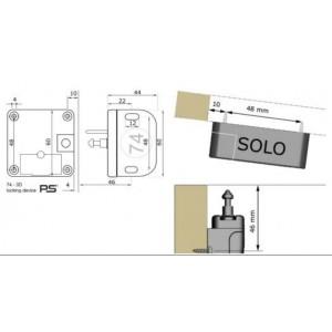 Verrouillage ajustable pour placard et tiroir
