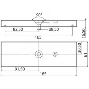 Ventouse électromagnétique 500Kg 12-24 Vdc