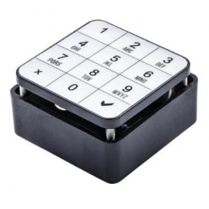 Serrure électronique code clavier pour casier consigne