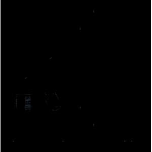 dimenssion plaque de finition et de pose pour bouton poussoir électrique