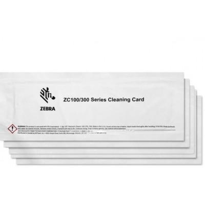 Kit de nettoyage pour imprimante a badges Zebra ZC100