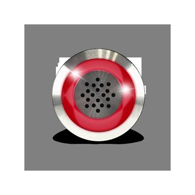 Buzzer et voyant rouge 12Vdc