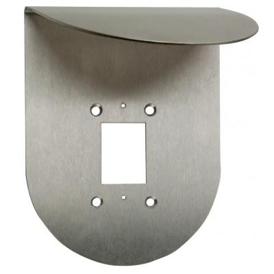 Protection anti-pluie en acier inoxydable pour Ekey home