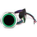 Gros bouton poussoir de porte sans contact avec buzzer