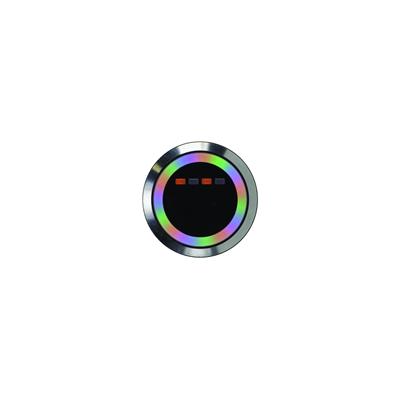Gros bouton poussoir 38mm sans contact infrarouge à LED multi couleurs
