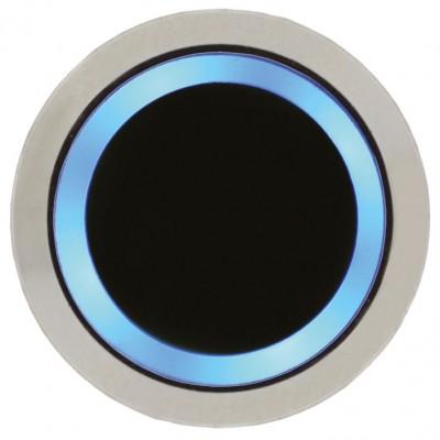 Bouton poussoir infrarouge sans contact avec voyant bleu avec buzzer
