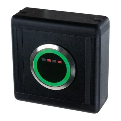bouton poussoir infrarouge sans contact  à LED montage en applique