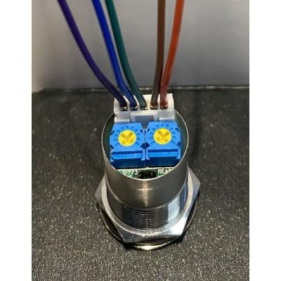 bouton sans contact réglage distance de détection de la main