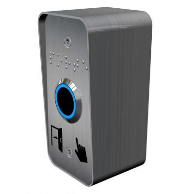 bouton de sortie de contrôle d'accès sans contact à détection infrarouge longue distance