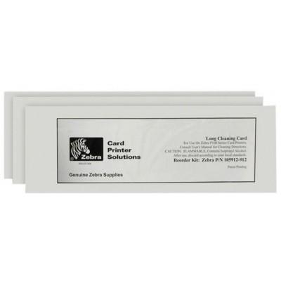 Kit de nettoyage pour imprimante a badges Zebra ZXP3