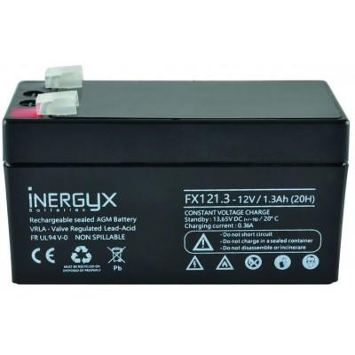 Batterie 12V DC 1,3A pour alimentation de contrôle d'accès