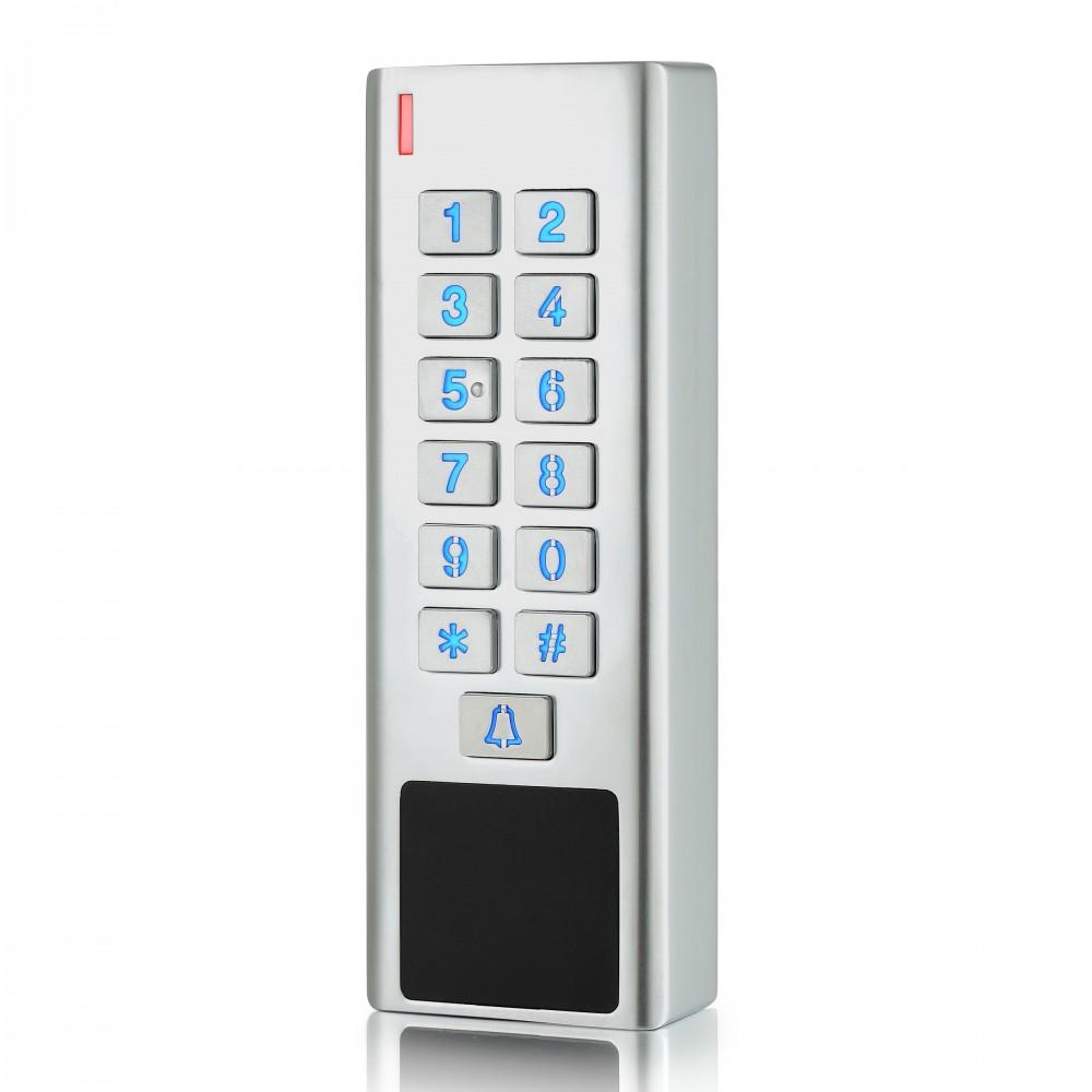 Lecteur de badges et code clavier autonome pour sécuriser l'entrée de PME