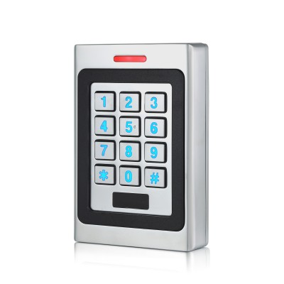 Lecteur de badges Mifare (13,56MH  et code clavier autonome pour sécuriser l'entrée de PME