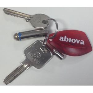 Porte-clefs de contrôle d'accès proximité RFID 125khz et mifare
