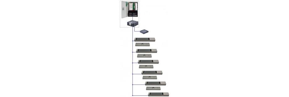 Protection des tiroirs haute sécurité par ventouses électromagnétiques