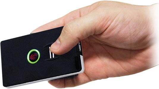 Utilisation du badge biométrique