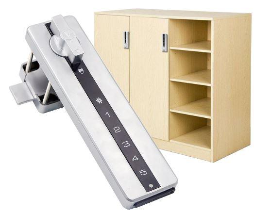 Serrure électronique à code clavier pour casiers consigne